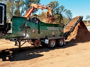 Redback Razorback timber waste-waste recycling grinder range launched