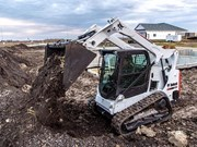 Bobcat T595 compact track loader launched