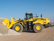 Komatsu adds WA500-7 to Dash 7 wheel loader range