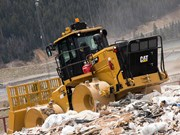 Cat announces 816K landfill compactor