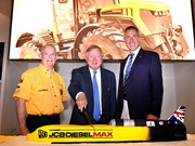 JCB celebrates 10th anniversary of Dieselmax land speed record