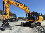 Equipment focus: JCB JS300 excavator
