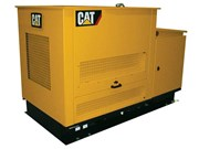 Cat launches DG gas-powered generators