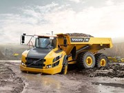 Volvo launches G-series articulated haul trucks