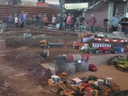 World's biggest RC construction site