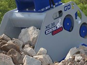 Boss Attachments launches Xcentric crusher bucket