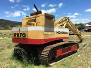 Blast from the Past: Kato 550G excavator