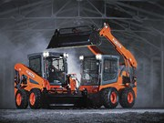 Kubota launches SSV series skid steer loaders