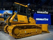 Komatsu unveils new product lineup at CONEXPO-CON/AGG 2017