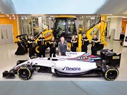 JCB announces partnership with Williams F1 team