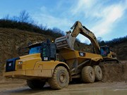 Cat updates cab in new 745 articulated truck