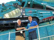 Lincom wins Powerscreen Regional Dealer of the Year award