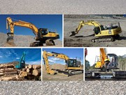 Five of the best diggers over 30 tonnes