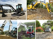 Five mini excavators you need to see