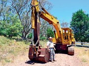 Blast from the past: 1968 Kato 750G excavator
