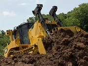 Cat pumps up performance on D8T dozer