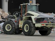 Volvo hybrid wheel loader halves fuel use in tests