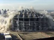 Video: Satisfying stadium demolitions