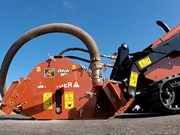 Ditch Witch brings out MT9 microtrencher