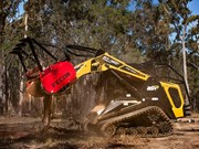 Equipment focus: ASV RT-120 Forestry Posi-Track loader and Fecon Bull Hog mulcher