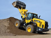 Komatsu adds two new Dash 8 wheel loaders