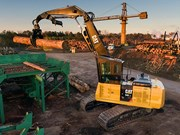 Cat intros new forestry machines
