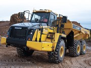 Komatsu HM300-5 and HM400-5 dump trucks released