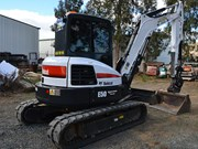 Review: Bobcat E50 bladed excavator