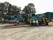 Mine spec portable crushing
