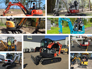 The hottest mini excavators on the market