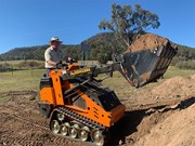 Review: OzDiggers OD-130T mini skid steer loader