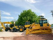 Komatsu and DHL make import deal