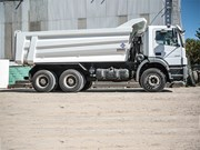 Hardox wear plate for tipper bodies