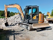 Product focus: Stage V Case CX90D excavator