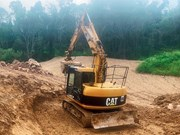 Practical test: Cat 311 excavator