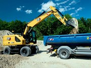 Cat intros M314 and M318 Next Gen wheeled excavators