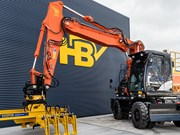 Hitachi S Series excavator arrives