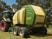 Krone Comprima V 150 XC X-Treme baler review