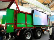 Agritechnica 2015: Strautmann's new Aperion wagon allows for speedy unloading