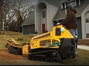 Vermeer rolls out first ride-on stump grinder