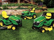 John Deere upgrades ride-on mower range