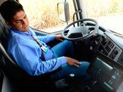 Volvo self-steering truck set to boost cane harvests