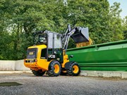 Agritechnica 2017 | Compact wheeled loader on track for JCB