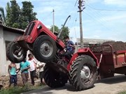 Video of the Week: The 10 year old tractor stunt driver