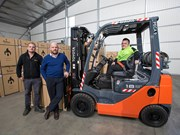 Modified Toyota forklift creates more opportunities for worker