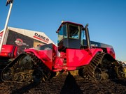Case IH Steiger heads home
