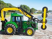 This shelterbelt trimmer is the coolest John Deere