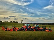 Kubota tractors arrive at Roylances