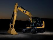 The New Cat 313FL is being heralded as a big excavator in a little body