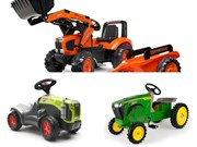 Top toy tractors: ride-on range